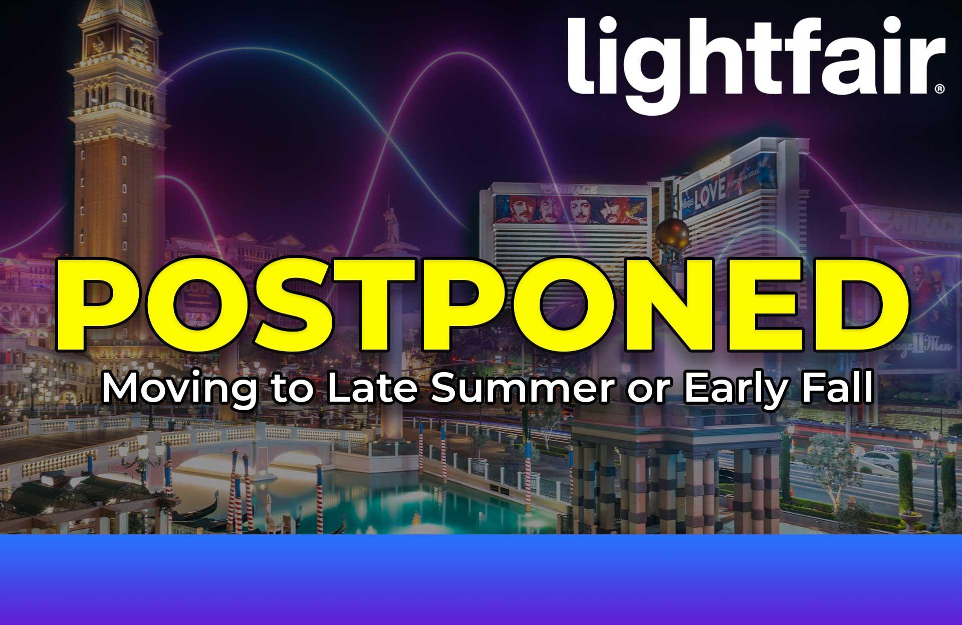 LightFair 2020 Postponed